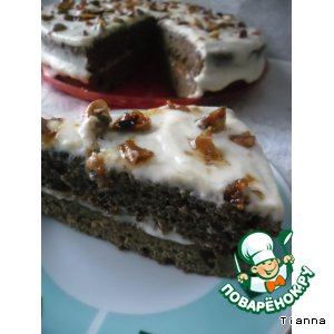 """Торт """"Вацлавский"""" почти по ГОСТу"""