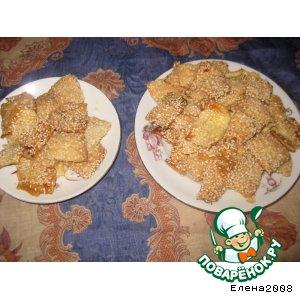 Слайсы-хрустящее печенье