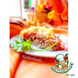Амстердамский воздушный пирог из риса