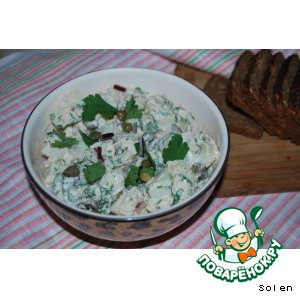 Картофельный салат с каперсами