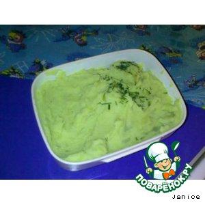 Картошка горохово-луковая