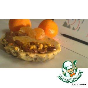 Мандариновое пирожное