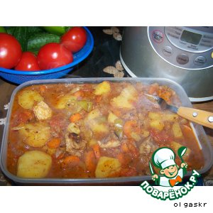 Баранина с овощами /Кчуч/ Чанахи