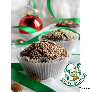 "Шоколадные кексы ""Миссисипи"""