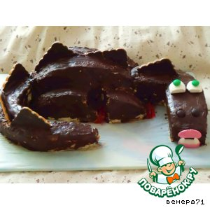 """Торт """"Черный дракон"""""""