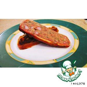 Мясной рулет  -  богатейший вкусовой букет