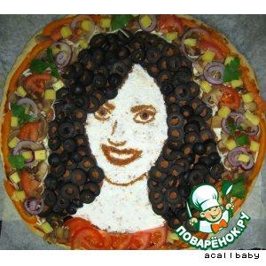 Пицца-портрет