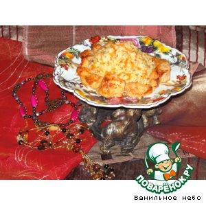 Рис с куриной грудкой по-индийски