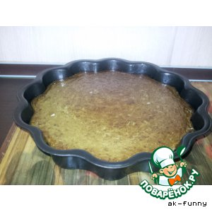 Пирог из куриной печени и риса