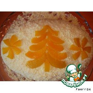 Торт в пароварке «Морковный сугроб»