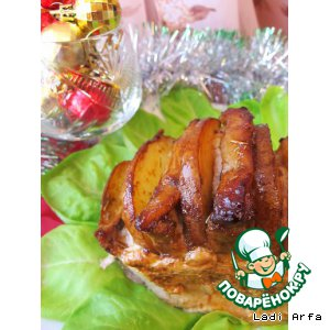 Новогодняя свинина с грушей