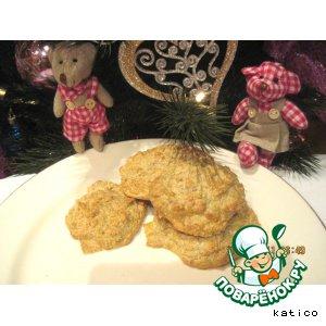Воздушное сырное печенье
