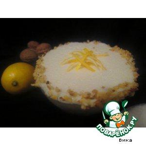 Холодное лимонное суфле