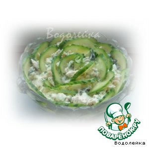 "Салат ""Зеленая роза"""
