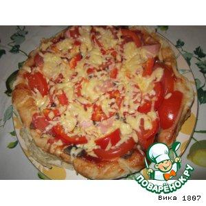Быстрое тесто для пиццы