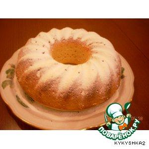 Кефирный кекс