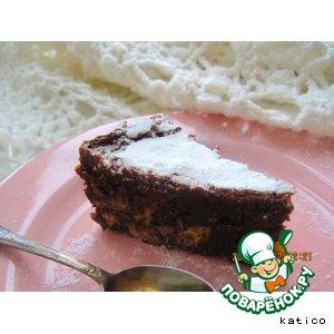 Зимний шоколадный пирог