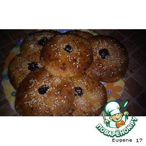 Творожное печенье на манке