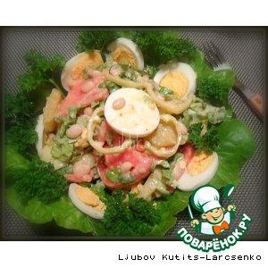 Овощной венгерский салат «Каройи»