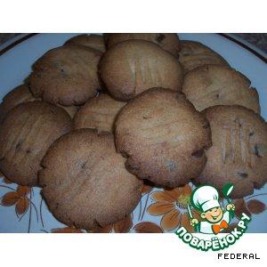 Анисовое печенье с шоколадом