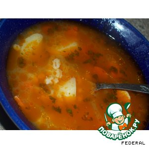 Суп с перловкой по-шотландски