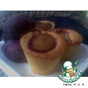 Пирожные «Сливовики»