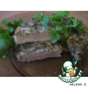 Маринованная свинина, приготовленная на гриле