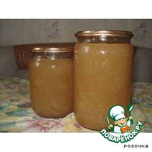 Медовое варенье из дыни