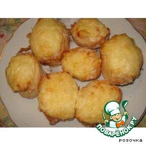 Картофель печеный фаршированный