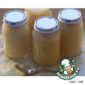 Фруктово-молочное пюре