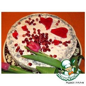 """Торт """"Сделано с любовью"""""""