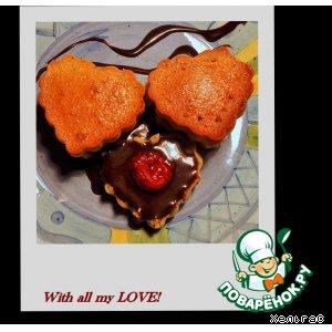 С любовью! Нежные кексики на завтрак разбудят сладким ароматом