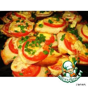 Горячие бутерброды в духовке «Долголетие»