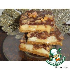 Пирожное  с орехами макадамия