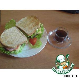 """Сэндвичи """"Любовный Дуэт"""""""