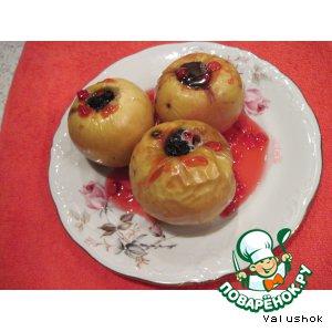 Яблоки, запеченные в духовке