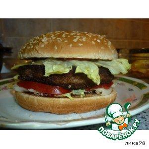 """Бургер """"Настоящая классика"""""""