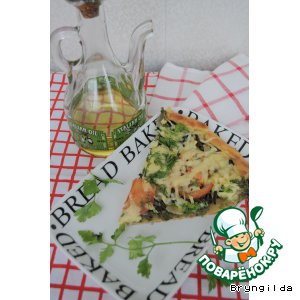 """Мечта гурмана""-пицца с папоротником"