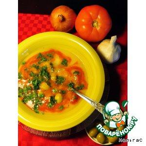 Томатно-картофельный суп-пюре
