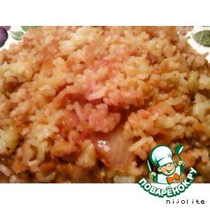 Рис в горшочках