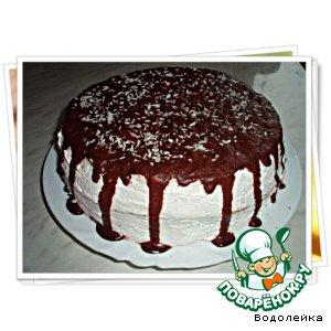 """Торт """"Двойное удовольствие"""""""