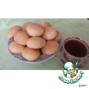 Нежные булочки с мармеладом