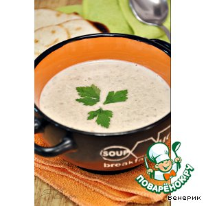 Чечевичный суп-пюре с кокосовым молоком и имбирeм