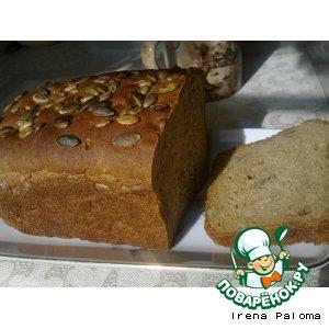 """Хлеб почти """"Альпийский"""" на квасном сусле"""
