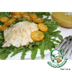 Салат с кумкватом