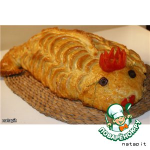 "Кулебяка ""Рыбка моя золотая"""