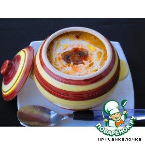 """Грибной крем-суп """"Капучино"""""""