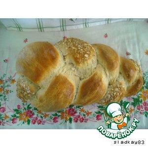 Хлебная коса по-швейцарски с 5 злаками