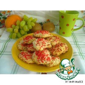 Печенье кокосовое со злаками