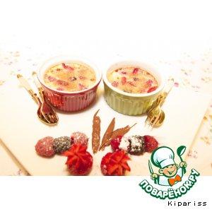 Крем-брюле с ягодами
